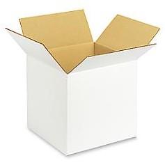 Caja Blanca con Impresión Canal Simple